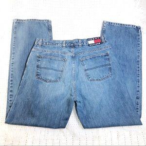 Tommy Hilifiger Men Jean vintage patch 34 straight
